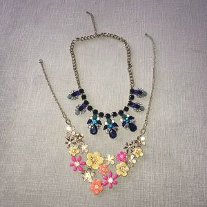 TWO Statement Necklaces (Francesca's) Bundle